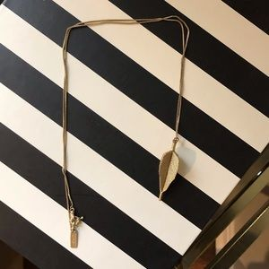 Madewell 1937 Dart Pendant Necklace